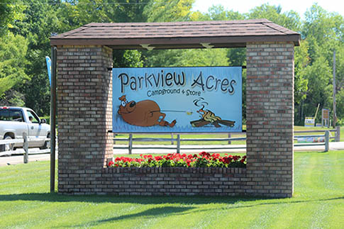 parkview acres campground and store in michigan